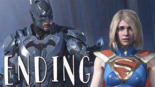INJUSTICE 2 GOOD ENDING (BATMAN ENDING) Walkthrough Gameplay Part 15 (Story Mode)