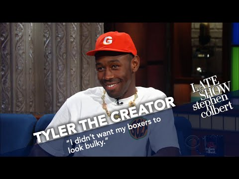 Tyler, The Creator Wears Boxers In Late Night's Coldest Theater