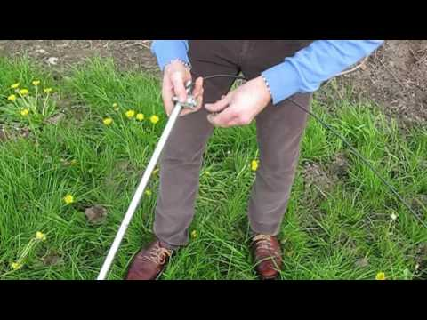 How to set up an electric fencing system