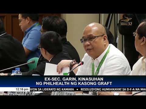 PhilHealth sues Garin, Padilla over alleged diversion of P10.69 billion for senior citizens