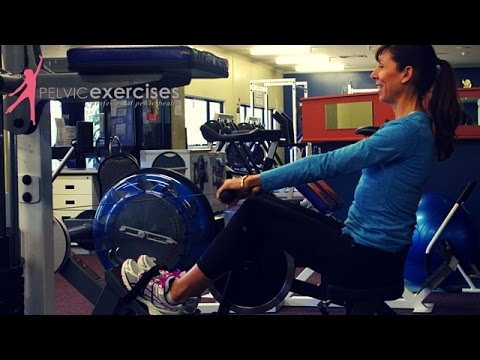 Rowing Machine Tips for Pelvic Floor Safe Gym Exercises