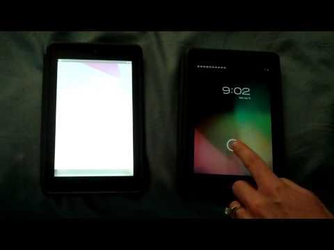 My Nexus 7 Screen Problem