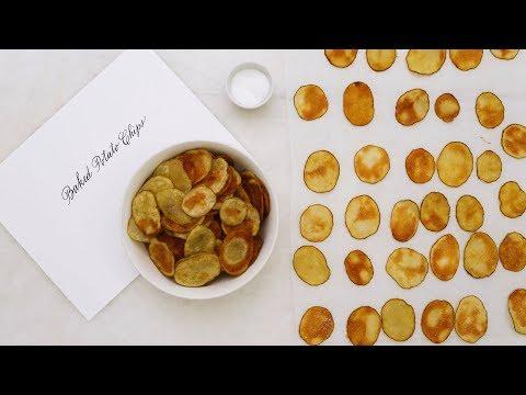 Crisp-Baked Potato Chips- Martha Stewart