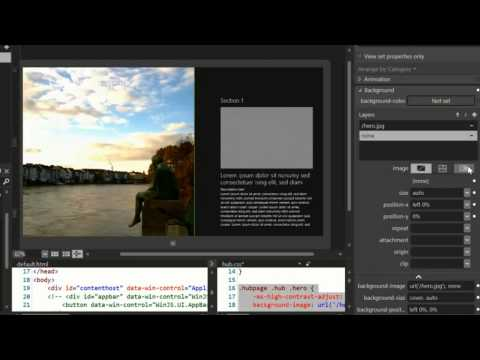 How to develop windows store apps - HTML, CSS, JavaScript (2/3)