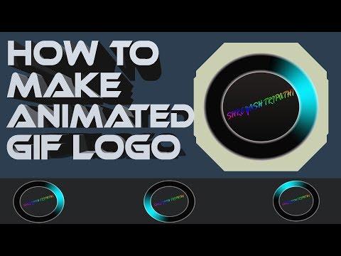 How to make an animated GIF Logo | Photoshop Tutorials