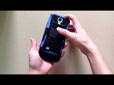 3 in 1 Dual Layer Rugged Armor Hybrid Stand Case with Belt Clip Holster