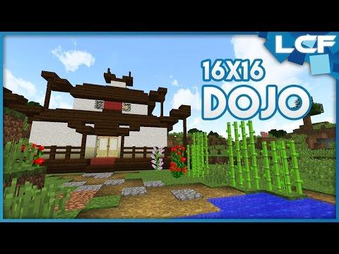Minecraft Tutorial: Small Dojo! (16x16)
