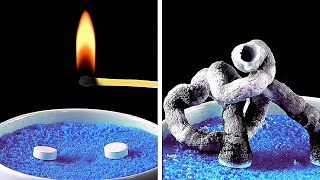 SATISFYING EASY SCIENCE EXPERIMENTS to do at home BY 5-minute MAGIC
