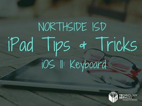 iOS 11: Keyboard