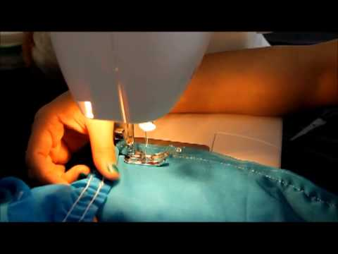How to use elastic thread (How to sew with Elastic thread)