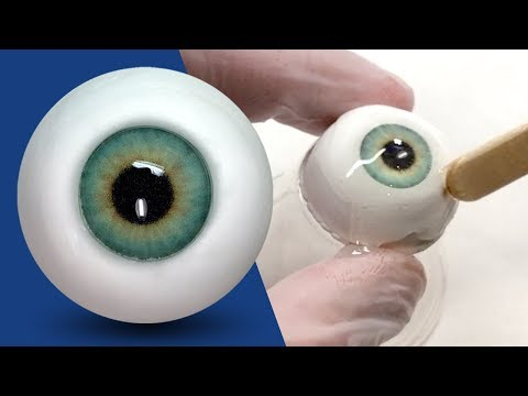 How to Make EASY REALISTIC Eyeballs Out of Polymer Clay