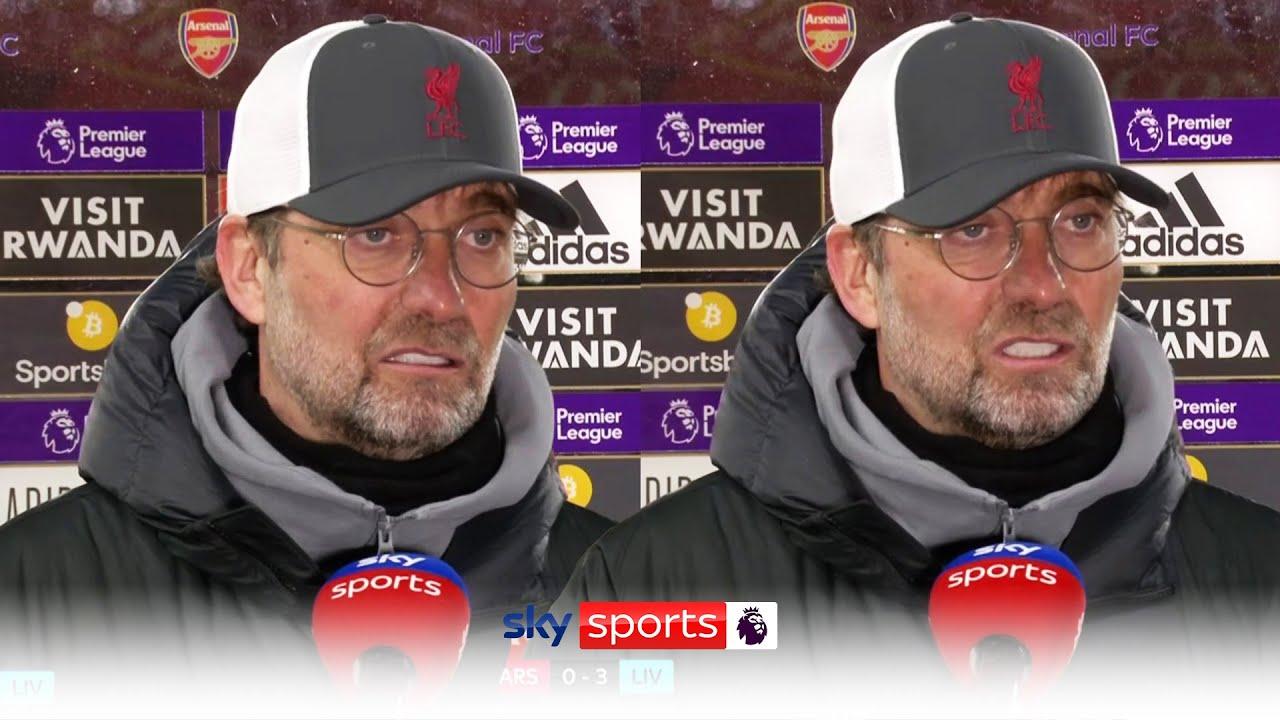 Jurgen Klopp on Trent's form and Champions League battle! | Arsenal 0-3 Liverpool Post Match