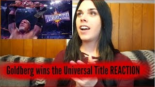 WWE Fastlane: Goldberg wins the Universal Title REACTION