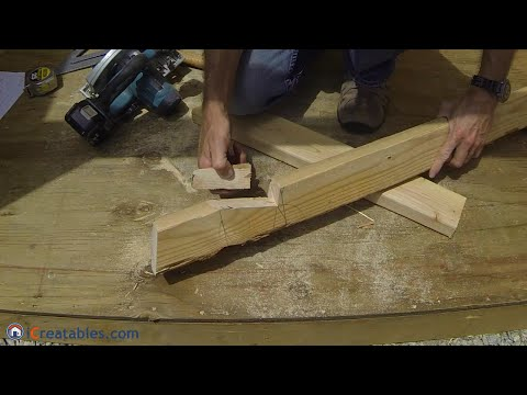 How To Build A Lean To Shed - Part 4 -  Rafter Build