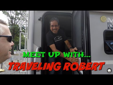 Youtuber meet up with Traveling Robert
