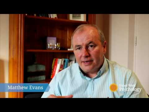 Matthew Evans - How do you help people to overcome their issues?