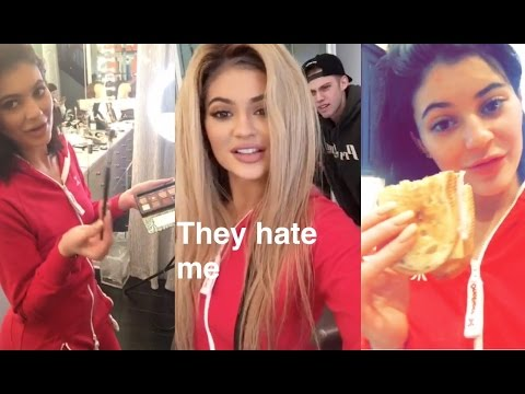 Kylie Jenner Snapchat Videos with her best friends (1) || January 2016