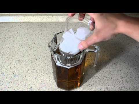 Clever way to keep beer ice cold