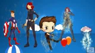 Download BLACK WIDOW Finger Family Songs & Nursery Rhymes For Children Video