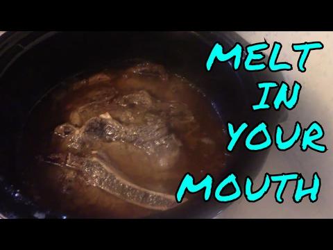 Crock pot steak / melt in your mouth yummmmmm