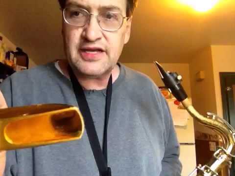 Big Dave Wilson Sax Lesson