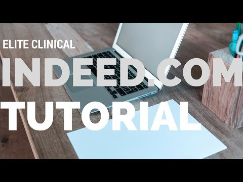 How to use Indeed.com to Get Clinical Research Jobs