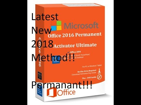 Microsoft Office Latest New Activation Method for 2018 working 100%