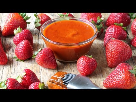 How to Make Strawberry Chipotle BBQ Sauce