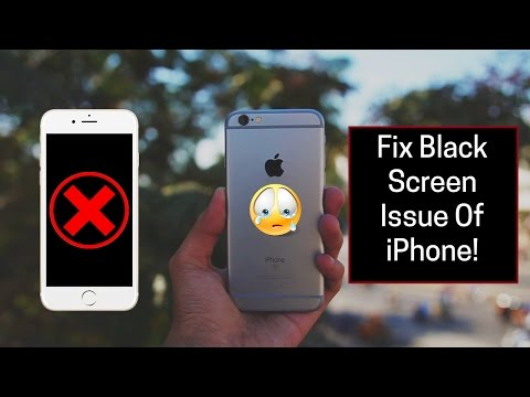 iPhone 6/6S/6 Plus/6S Plus: How to fix Black Screen issue   Display won't Turn ON   Screen is Black!