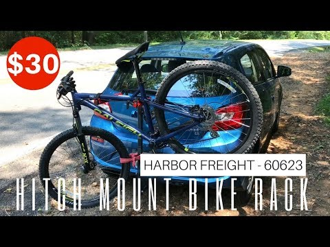 $30 Hitch Mount Bicycle Rack from Harbor Freight - Item 60623