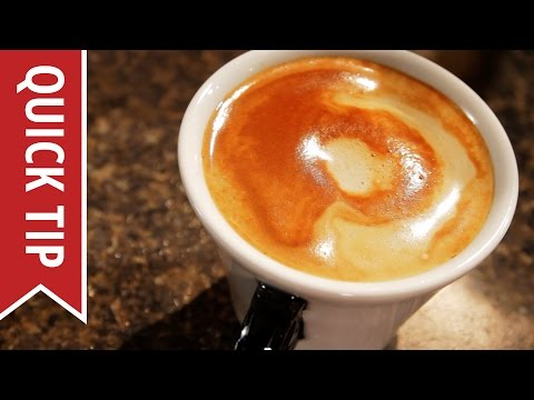 Quick Tip: How to Make a Flat White