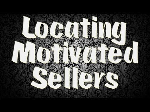 House Flipping 101 - Finding Motivated Sellers Online