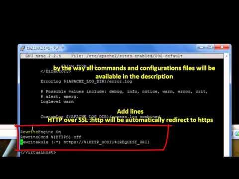 Debian 6.0.6 Server Apache2 :Auto redirect http to https -third (see Description below)