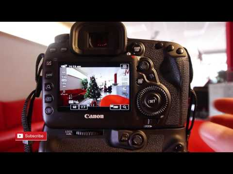 Canon 5D Mark IV Time lapse function