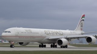 35 Engine Spool Ups: A340, 777, MD11, 787, A330, 747, 767, 757, A321, 737, A320 Manchester Airport