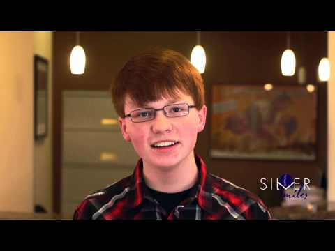 A Young Boy After Braces | Silver Smiles
