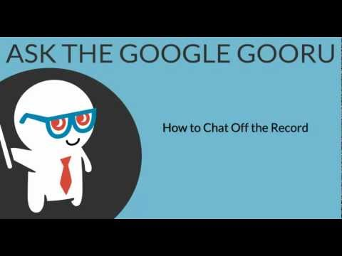 How to Chat Off the Record