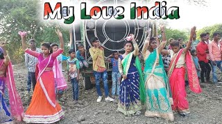 Dil Me He Mera India // 26 January Dance // Adiwasi Girls // Adivasi Desh Bhakti Song //arjun R Meda
