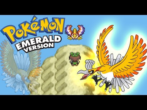 Pokemon Emerald | How to Catch [Shiny] Ho-Oh Event + Hidden Sacred Ash (without Master Ball)