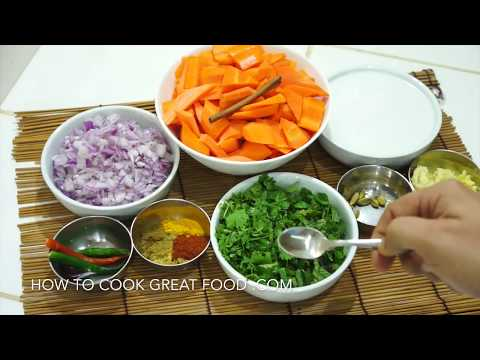 How To Cook Carrot Coconut Curry - Recipe Vegan