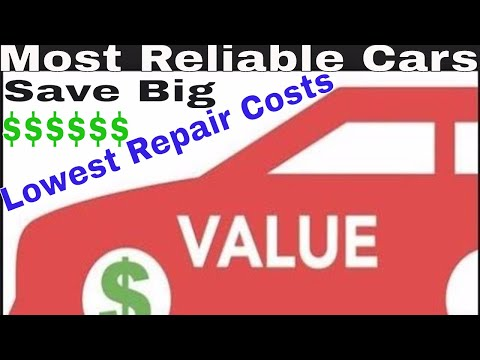 Most reliable used cars with the lowest costs to repair | Save big $$$ on your next car purchase.