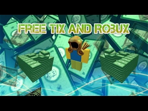 READ DESC! How To Get Free Robux And Tix *NO DOWNLOAD* (works) Sep 2015