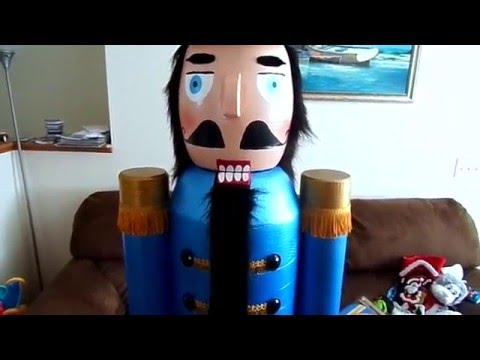 My Life Size Nutcracker My Dad Made Me For Christmas 2015