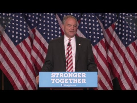 Kaine: Trump has a 'bizarre fascination with strongm...