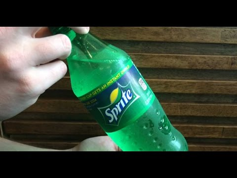 How To Turn Sprite From Clear Liquid Into Instant Slush - Works With Coke And Other Sodas