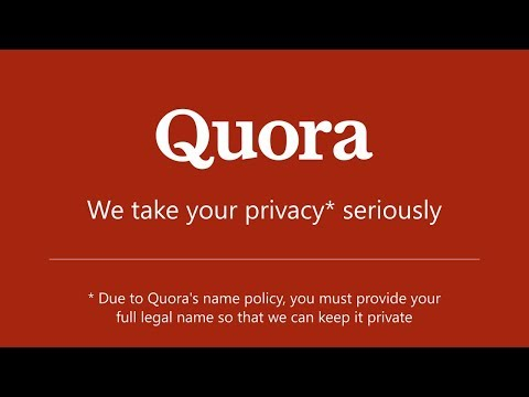 Quora's Real Name Policy Is Preventing Real Answers
