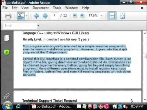 How to Copy Text From a PDF (Acrobat) Document