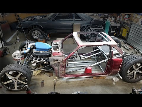 Front Suspension, Anti Roll Bar and Tube Chassis X Bars | Hot Rod Mustang Build