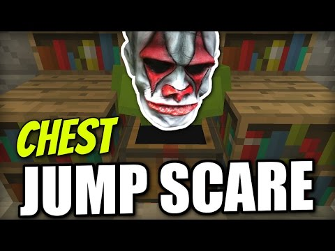 Minecraft PS4 -  EASY CHEST JUMP SCARE - Tutorial ( PS3 / XBOX / WII U / PE )
