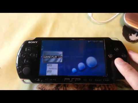 Jouer a un émulateur GBA sur sa PSP (Pokemon) [TUTO][FR]